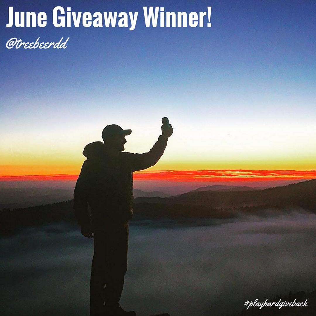 WE HAVE A WINNER! Cheers to @treebeerdd  for all your epic shots this June.  In return, we've got some snacks headed your way early next week to help fuel the rest of your summer! #PHGB #snackwithpurpose
