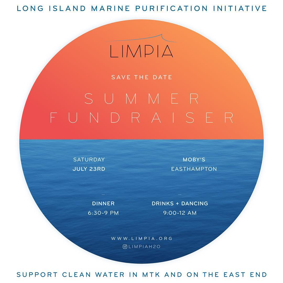 Mark your calendars y'all ­July 23rd we'll be supporting the Long Island Marine Purification Initiative in #Montauk. As most of you know, this cause (and ocean purification/preservation) is very close to our hearts so we hope you'll be able to join us...