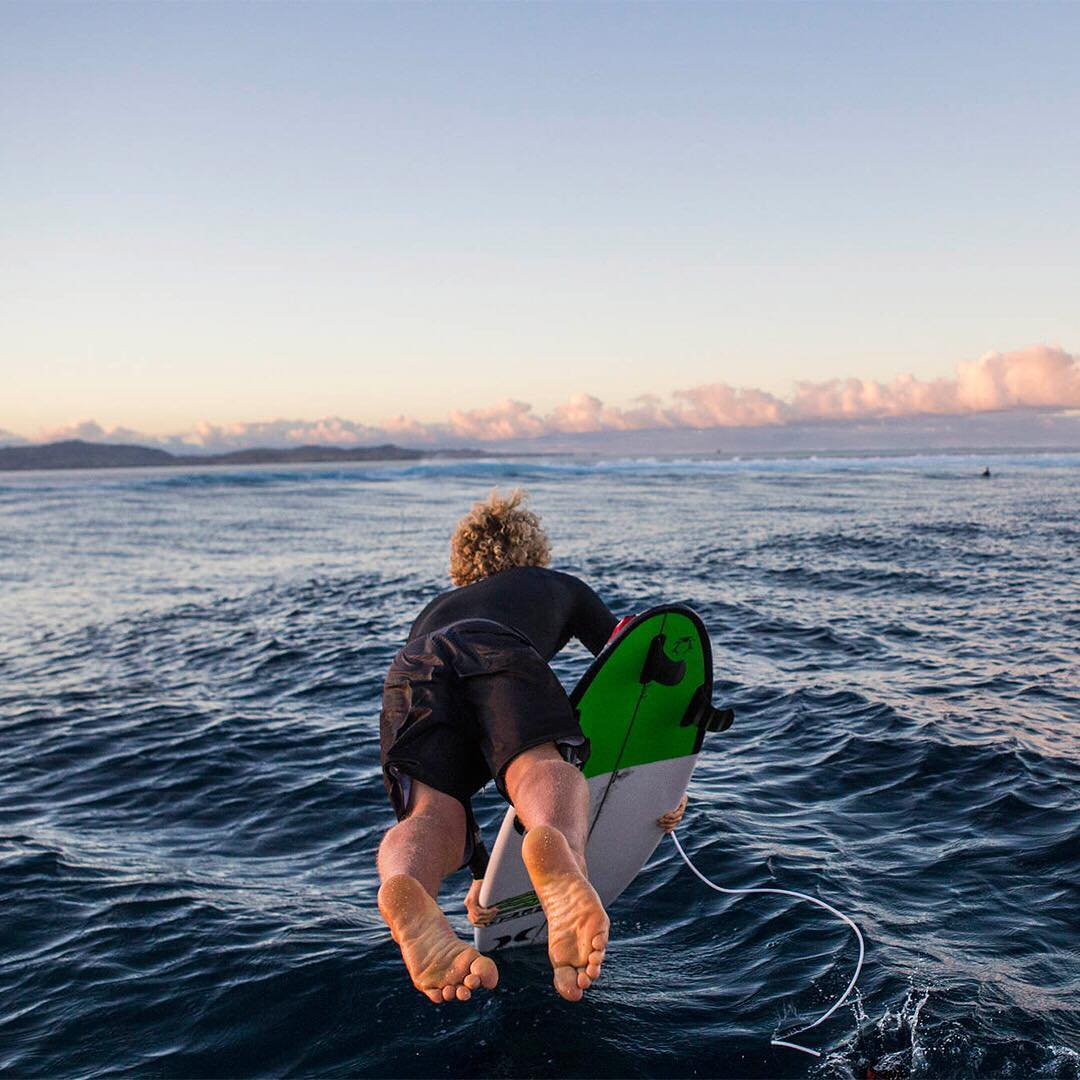It's the weekend. Get out there. @john_john_florence shot by @tomservaisjr. #WasteNoTime