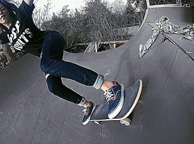 @agustinadibenedetto haciendo unas pasadas con sus @spiralshoes