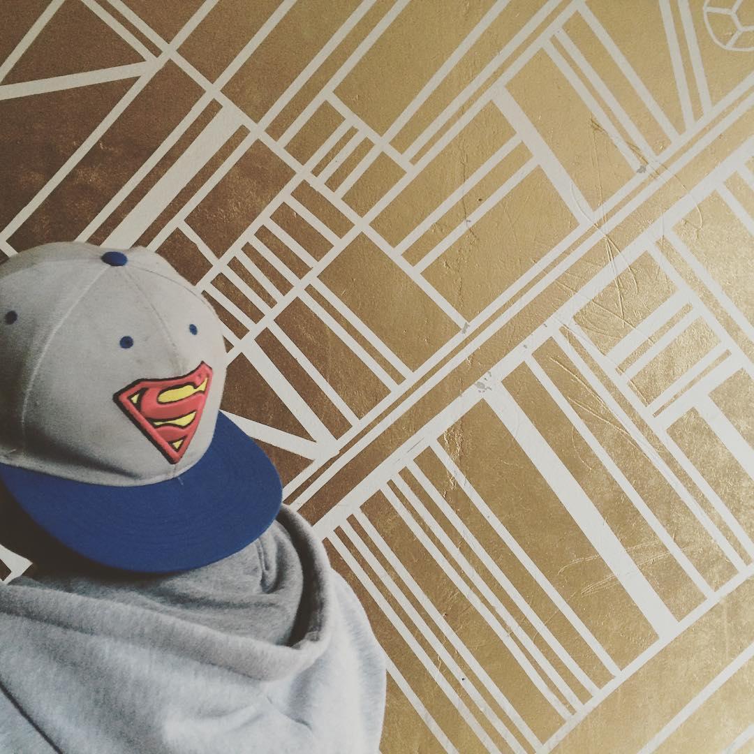 Superheroes dorados #darte #mural #golden #sepuede