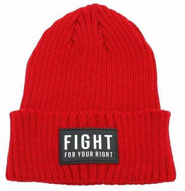Qué hermoso día para tener tu beanie @fightforyourrightok ! #actitudfight
