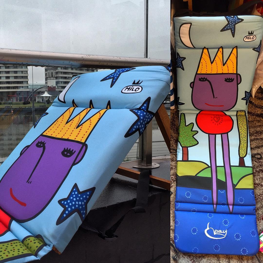 Hoy en @feriagood  Mezclando arte, diseño y emprendedores! Artistas en vivo pintando Chillys... Que la lluvia no te encierre!! Te esperamos... #trancastyleliving