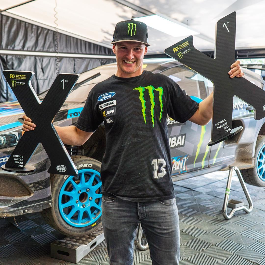 Back to back wins for Andreas! And, now @AndreasBakkerud is in THIRD overall in the championship! That's absolutely unreal - considering this is a brand new racecar that has barely three days of proper rallycross testing time. As a team owner, I...