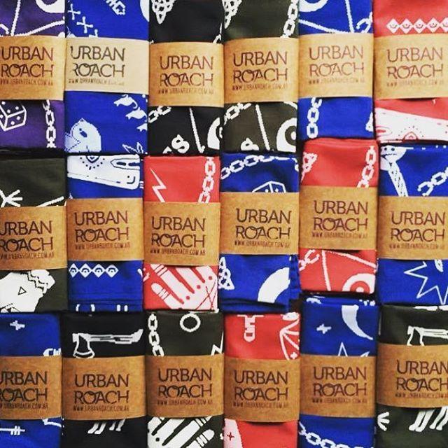 Pack ❤️ #diseñoindependiente #skull #magic #style #cool #packaging #bandanas #design #urbanroach #urban #red