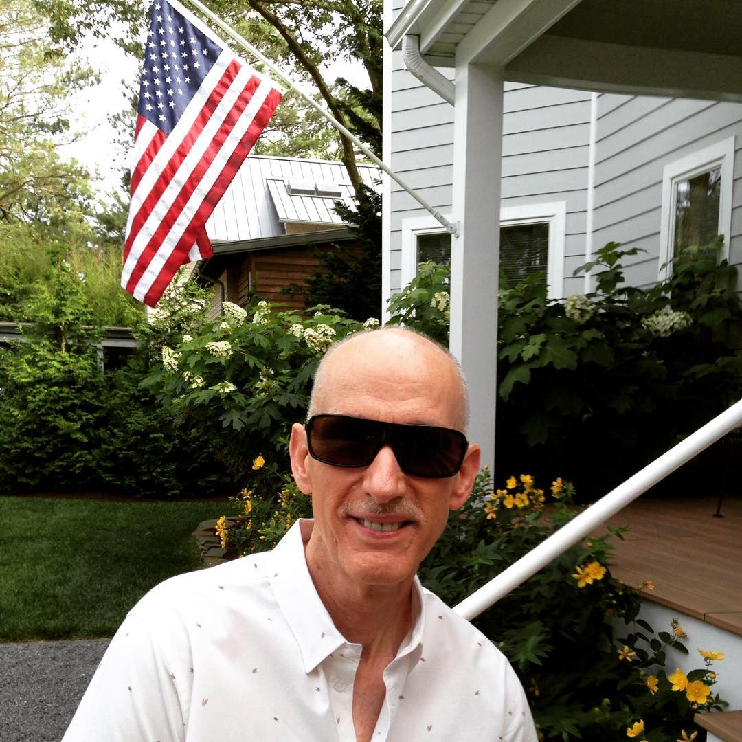 Bill wears #Waveborn #sunglasses to celebrate the #birthday of #America what do you wear? #findthesun #rehoboth #rehobothbeach