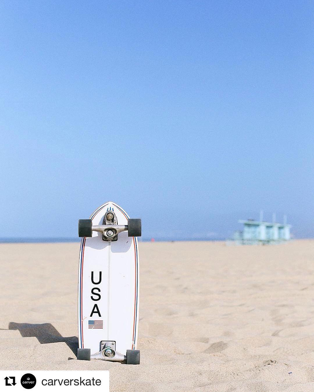#Repost @carverskate (via @repostapp) ・・・ Proud to be independently Made in USA since 1996. Have a safe and fun holiday weekend! | #carverskate #carverskateboards #surfyourskate