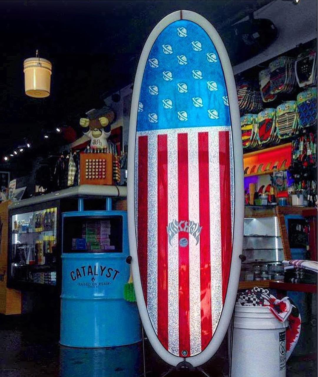 Happy 4th | Board Art by @thesonofcobra