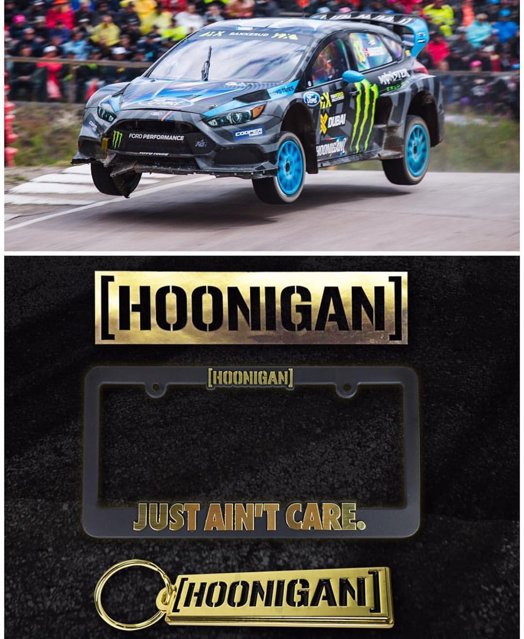 #GOLDSTICKERTIME: Congrats on back to back 1st place finishes for our dude @andreasbakkerud at @fiaworldrx! As usual - when we win, you win! Since AB is shredding so hard we are spicing up #Goldstickertime with extra goodies. You get a FREE gold HNGN...