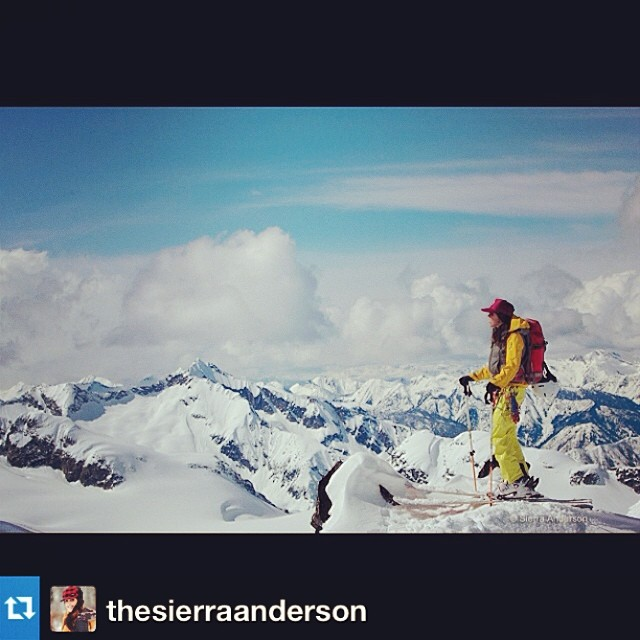 #Repost from @thesierraanderson. On top of the world in the Selkirks. #alpinefinishingschool #shejumps #nature #mountains #beauty --- This place stole a piece of my heart. #selkirkmountains #justiceglacier #livelifewithpassion #alpinefinishingschool...