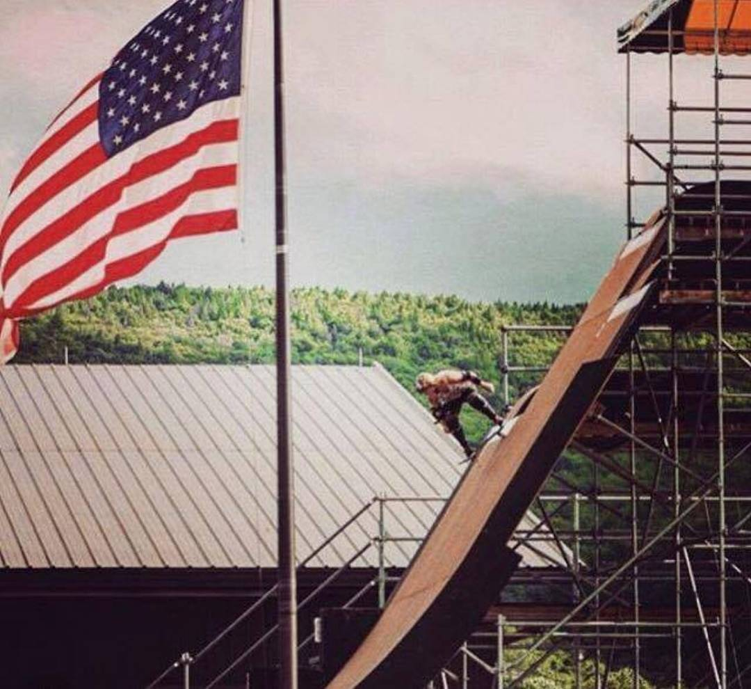 repost from @candy_jacobs with the Stars n Stripes @woodwardcamp ! Happy 4th Everybody!!