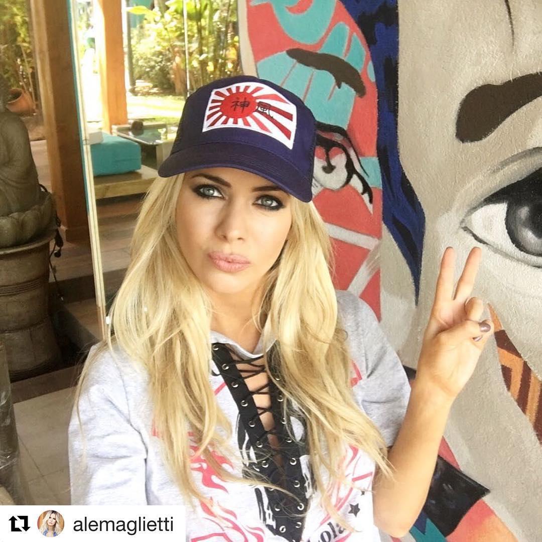 @alemaglietti con gorra @fightforyourrightok , hermosa! #actitudfight