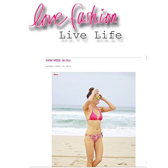 Great birthday present review to the beautiful Helena, founder of Mi Ola, on Love Fashion Live Life! #miola #miolainthewild www.lovefashionlivelife.com