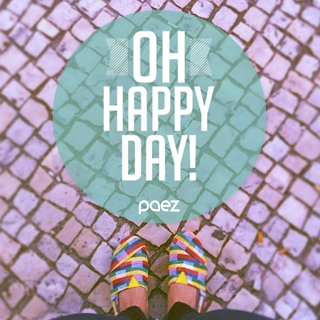 ♬ Oh Happy day! ♬  Have a very shiny Monday with music ☞  http://youtu.be/cLocKzC80gk  #Paez #WeMusic #OhHappyDay #PaezInspire