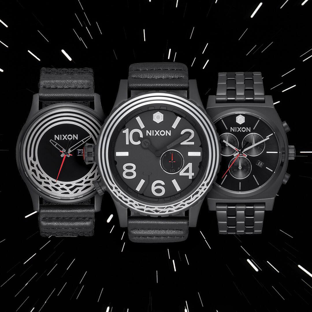The Force Awakens. Inspired by #KyloRen, the next chapter of the of the #StarWars | #Nixon story has arrived. Embrace the dark side at Nixon.com.