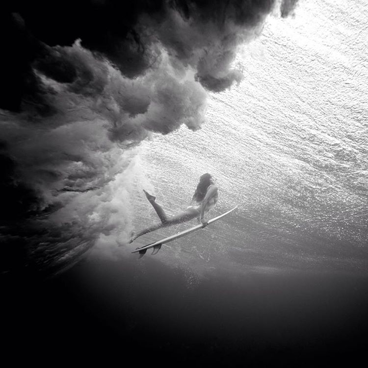 @monycaeleogram with her head in the clouds #POPsurf