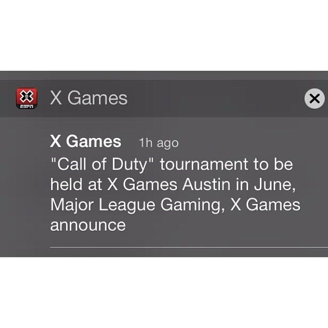 Big news between @MLGofficial and X Games Austin! Read up at XGames.com -> #MLGXGames