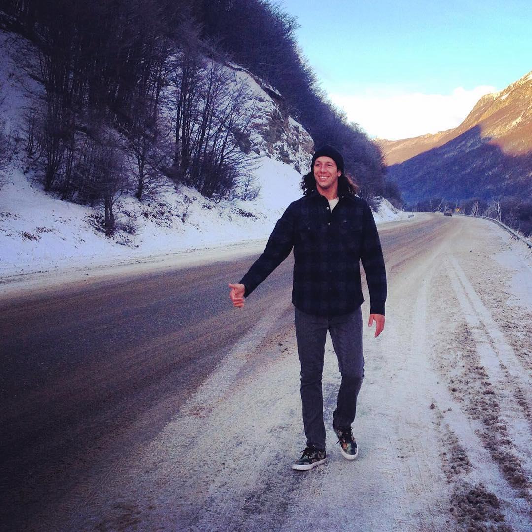 Un gran día en Ushuaia junto a nuestro amigo @fefegoni ❄️