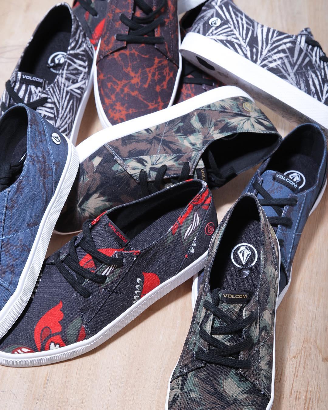 Vení x tus Lo Fi. Nuevas estampas y colores en #volcomstores #AW16 #volcomfootwear #truetothis
