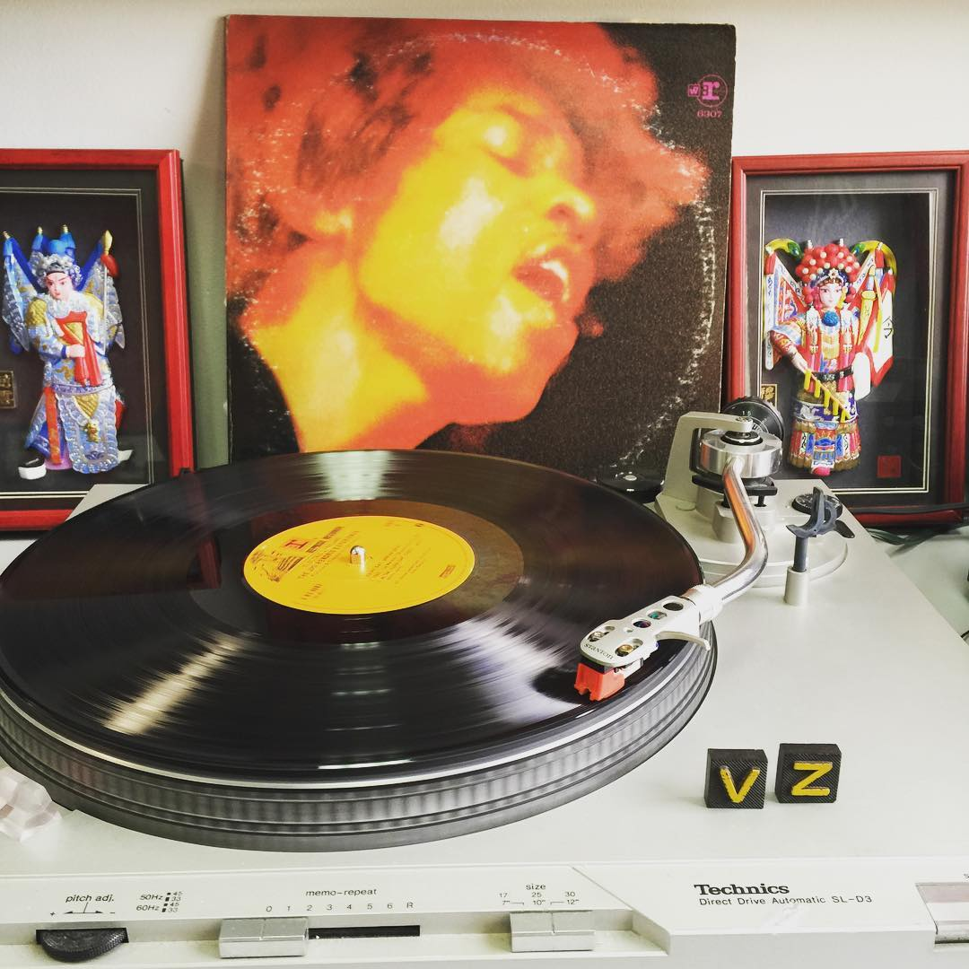 It's a new week and new #TurntableTuesday! We are enjoying a little #JimiHendrix to get us back in the swing of things. - #VonZipper #SupportWildLife
