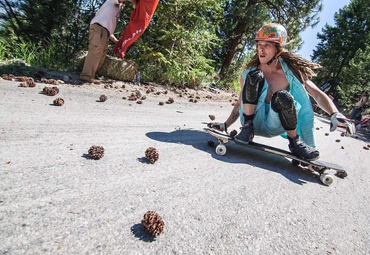 More pinecones with @dh_clbc.  Photo by @thelamin #restlessboards