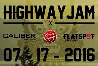We are stoked to announce that we will be part of HIGHWAY JAM IX!! Thanks to Mischa @flatspotshop for setting this up!! @jameskelly_shm and @liam_lbdr_ will be attending, are you!?