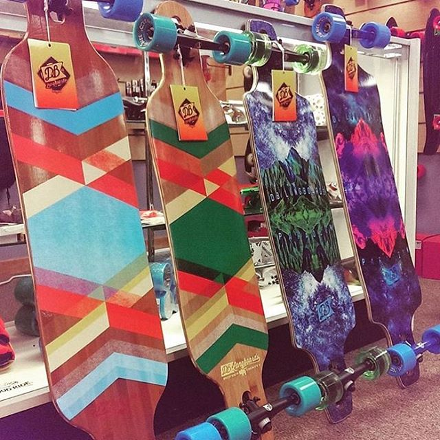 Our longboards are back in stock at @sitzmarksports in Kansas City! If you are in the area swing through and check them out! #dblongboards #longboard #goskate #longboarding