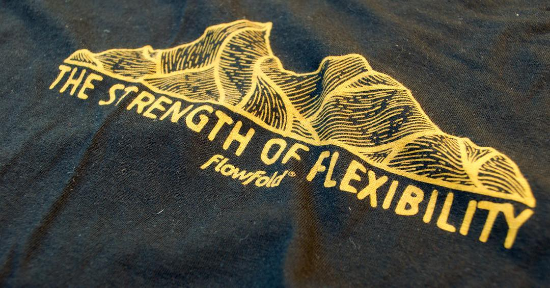 Detail shot of our new Foundation T-Shirt, made in USA from a super soft blend of hemp and organic cotton. Find 'em in black/gold and storm grey/powder blue using link in profile!