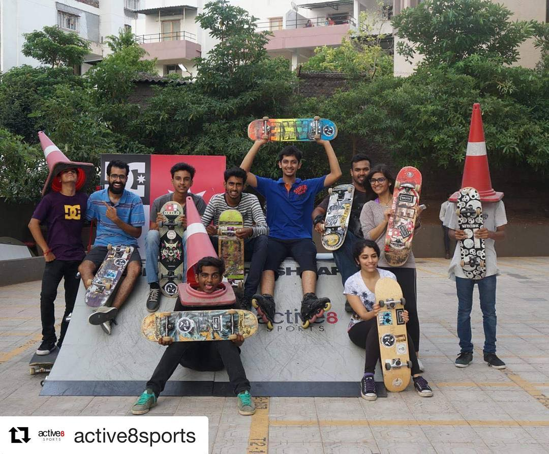 #Repost @active8sports  Yesterday was a super a session with @dcshoesindia !! Big ups to everyone who made it!  #skateboardingIndia #skateboardingpune #dcshoesindia #active8sports #freshpark #skatemeet #sportsmeet