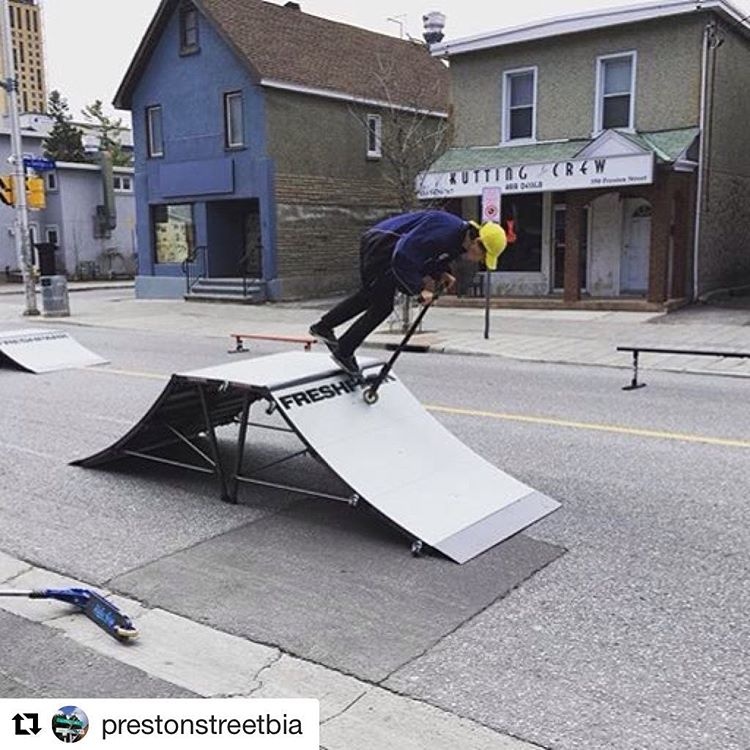 #Repost @prestonstreetbia  Thank you @airborneactionsports! Those ramps @freshpark were awesome! #cyclofest #ottawa #ottcity #ottbike #prestonstreetbia #littleitaly613 #littleitalyottawa #airborneactionsports #freshpark