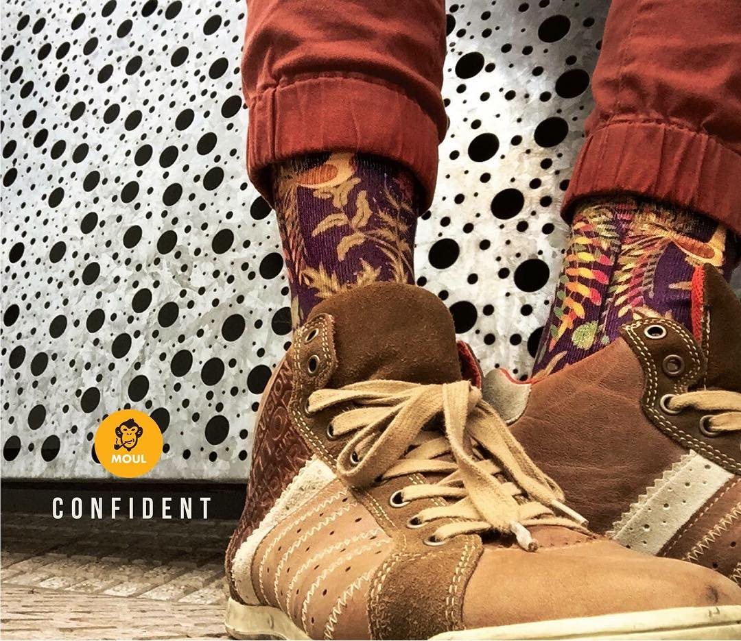 Imperfect we are. #confident #kickthecliche #feel #touch #socks #urban #style http://shop.moul.me