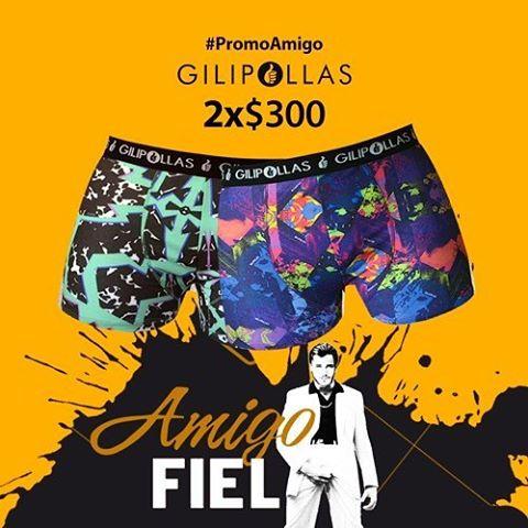 Sos mejor amigo si regalas esta promo GILIPOLLAS ® #PromoAmigo #AmigoFiel #Gilipollas #underwear #coolboxer #Amigo #diadelamigo #style
