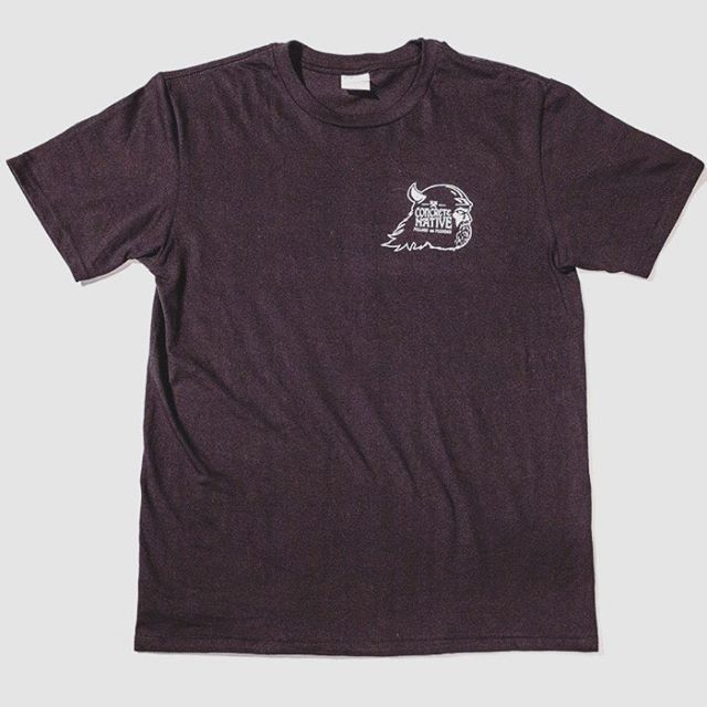 Product Feature: the Blood and Thunder Tee. This bad boy is made from 100% ORGANIC Ring-spun cotton. Oeko-Tek Standard 100 certified and soft as all hell! Bathe in the glory of Blood and Thunder!! #concretenative #organic #viking #tee #skateboarding...