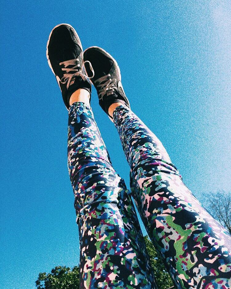 Welcome Back Sun ☀️ Legging Dots #BackToFitness