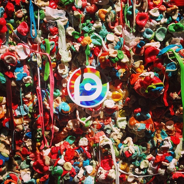 #gum #wall #seattle