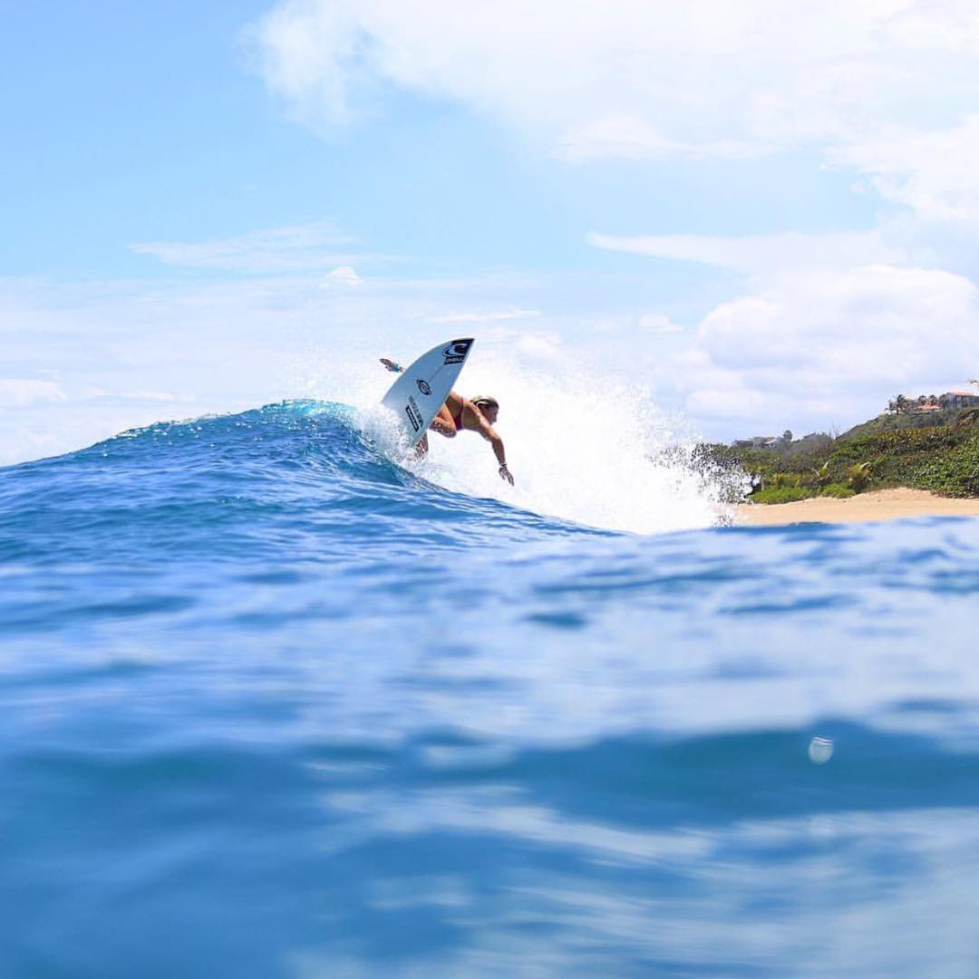The girls can surf! @nicole_fulford ripping the bag out of one! - #SeaSnakes #VonZipper #SupportWildLife