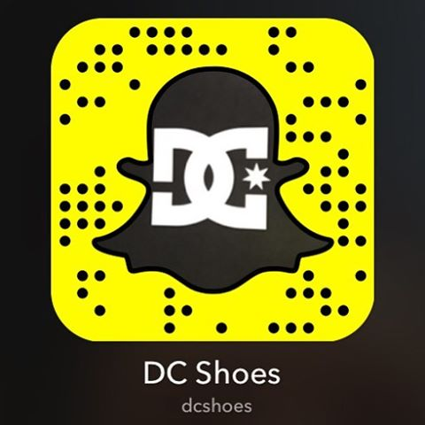 Add us on Snapchat to get an inside look at the brand, keep up with the team, and get sneak peeks of upcoming product releases. Use the Snapcode or search DCShoes.