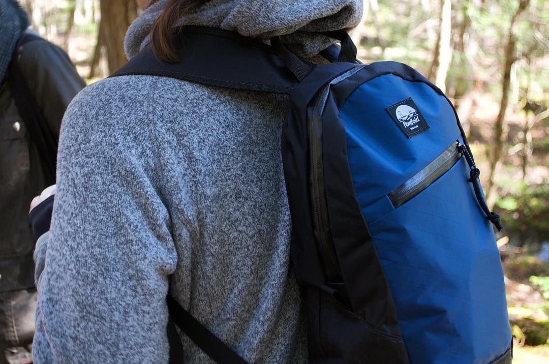 Be the first: Preorder the #Flowfold Optimist 10L mini backpack for 25% off this month only using link in profile. Made in USA with a lifetime warranty, this pack is for upbeat adventures in the half-day capacity.