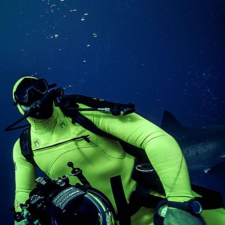 OG Matuse Family Member, @michaelmuller7, well suited in the Ichiban aka #geoprene aka his forthcoming signature dive suit that has been on limited edition status since 2010 PC TBD #lovematuse #ckth #da2006 #respectthefoodchain