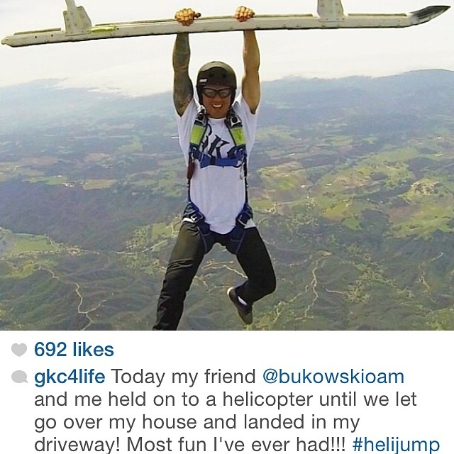 Woah. Can't wait to see what @gkc4life came up with at GKC Fest this weekend! #bult #adventureforever #adventure #helicopter #skydiving #helmetcam #gopro #nopro #skate #bike #bmx #skateboard #gofast
