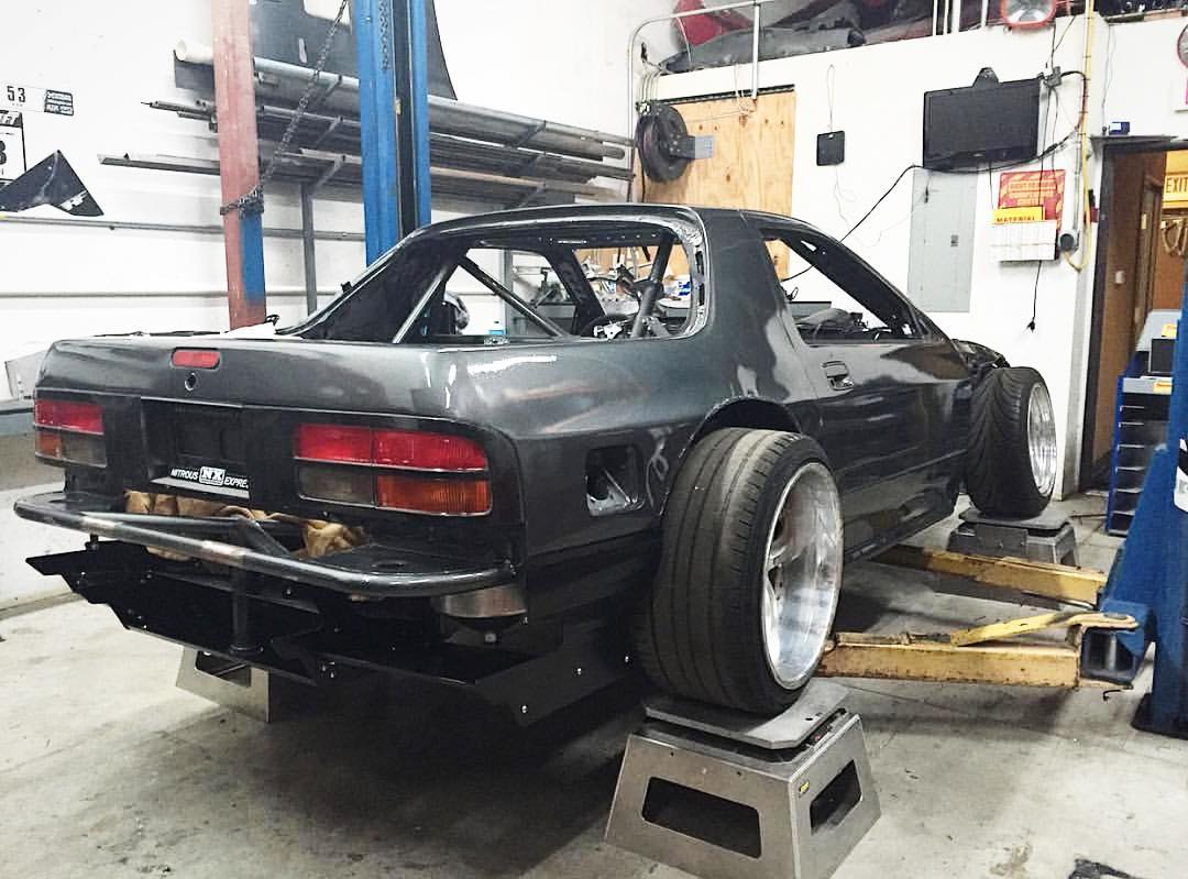 Fun fact: Our dude @b_olsen_ has been prepping for #7sday for about 3 years now. #maybenextyear #finishyourdamncar #rx7