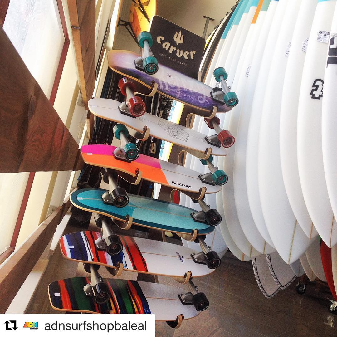 #Repost @adnsurfshopbaleal (via @repostapp) ・・・ Get your chance to improve your surf @carverskate already avaiable!! @adnsurfshopbaleal