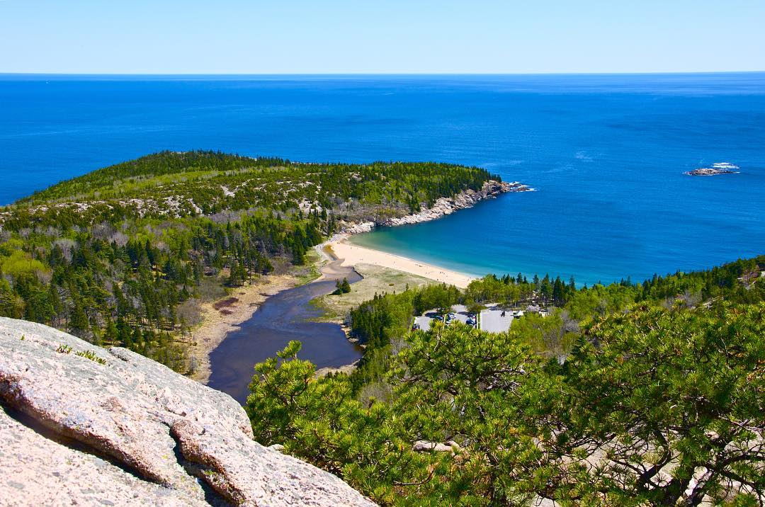 Happy birthday @acadianps, you look great in your birthday suit even at 100. Thankful for this world class park in our backyard. #Flowfold