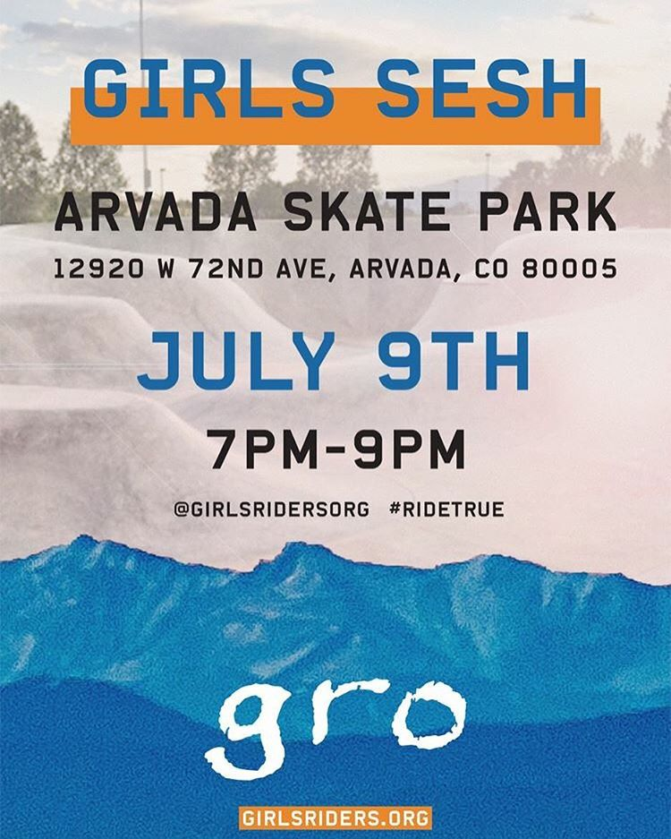 Hope to see you all there!! ALL ages and abilities welcome. Come shred and have fun
