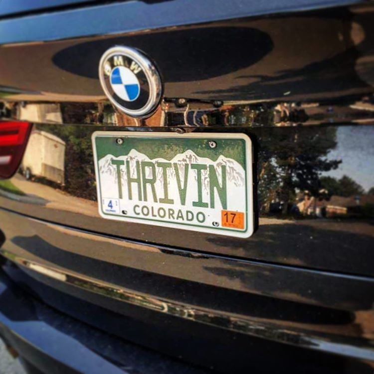 Peeps be #THRIVIN in #colorado! Thanks for sharing @jrobear