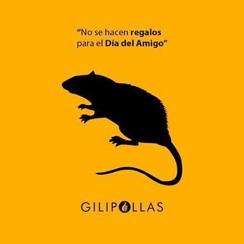 #AmigoFiel #MesDelAmigo #repost www.gilipollas.com.ar GILIPOLLAS ®