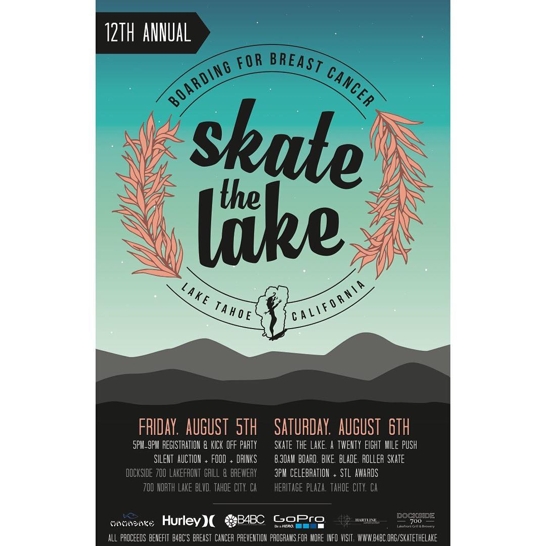 IT'S FINALLY THAT TIME OF YEAR! Registration for Skate the Lake 2016 is LIVE. Head to Classy.org/skatethelake2016 to start fundraising today! See you at the lake!