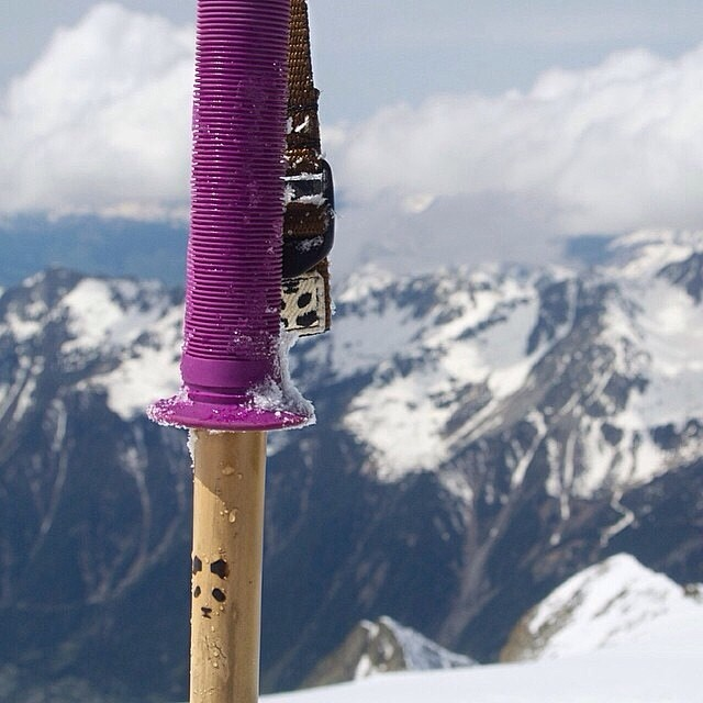 Another classy Panda Poles moment... Chamonix High Alpine Edition... Regram from @loalesi  #Magicskiwands #TRIBEUP!