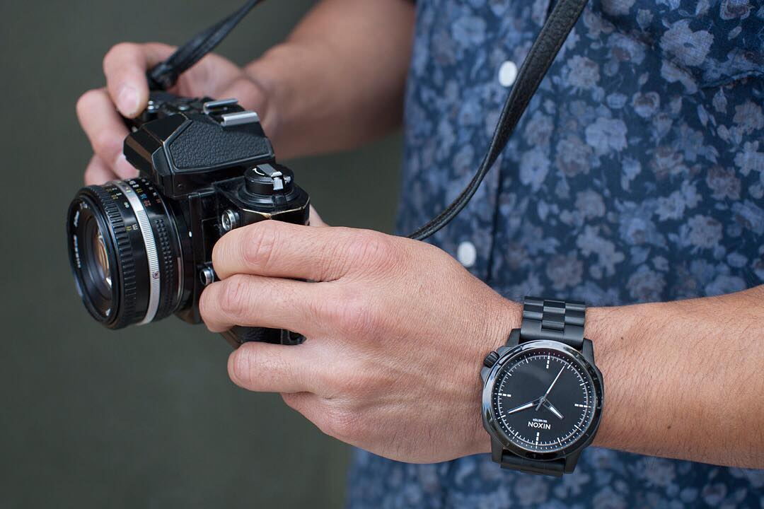 Built for the journey. Inspired by military field instruments, the #RangerOps is your go-to for any adventure. #Nixon