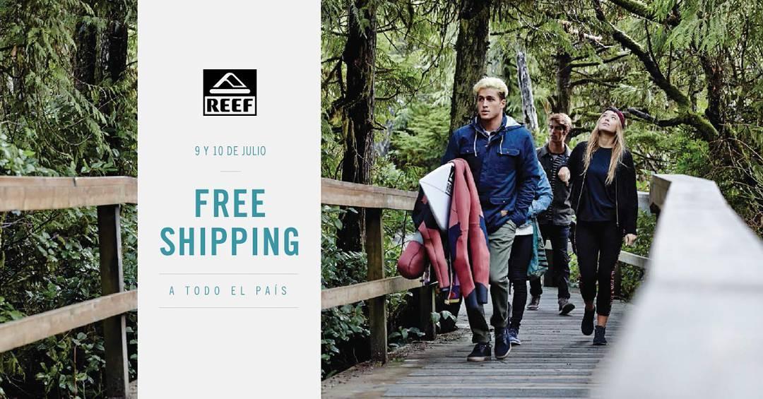 Free Shipping en la Tienda Online